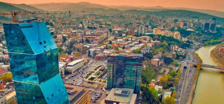 строительства в Грузии